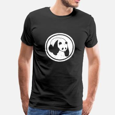 Gay Bears Panda logo - Men's Premium T-Shirt