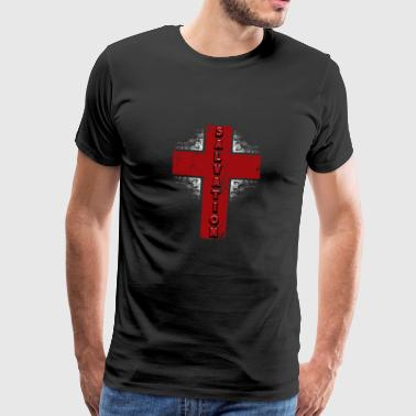 Jesus Cross Salvation Cross - Men's Premium T-Shirt