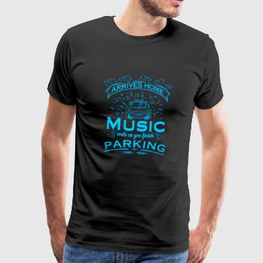 Music - Finish parking - Men's Premium T-Shirt