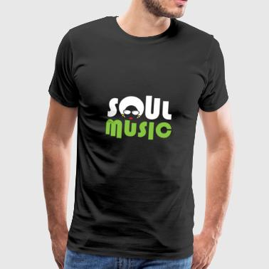 Soul Music Queen Choir Christmas - Premium T-skjorte for menn