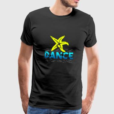 Starfish dance gift children Christmas - Men's Premium T-Shirt