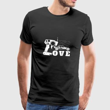Love RC car Christmas gift man - Men's Premium T-Shirt