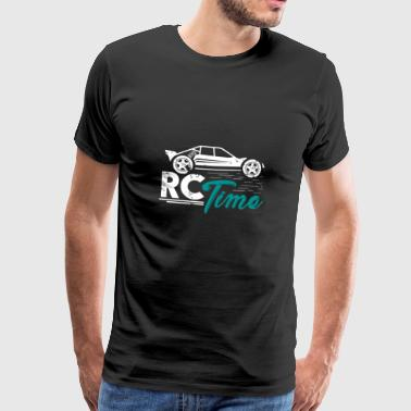 RC Time Toy Gift Kids Christmas - Mannen Premium T-shirt