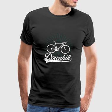 Trial Downhill Road Bike Trial Gift Christmas - Koszulka męska Premium