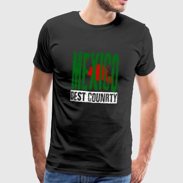 Mexico City Mexico's best country - Men's Premium T-Shirt