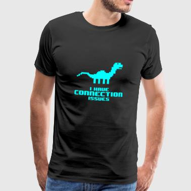 Hin Und Her Connection issues - Männer Premium T-Shirt
