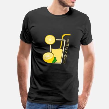 Cocktail Soda limonade cadeau citron noel - T-shirt Premium Homme