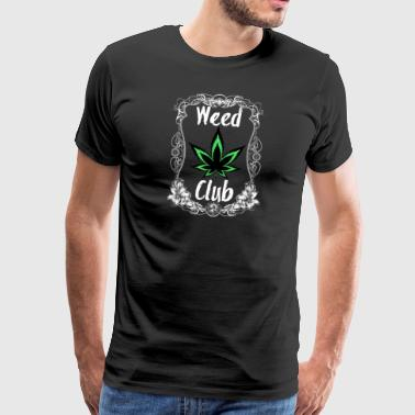 Weed Club Cannabis White Green Edition - Camiseta premium hombre