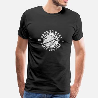 Basketball - I Love This Game - T-shirt Premium Homme