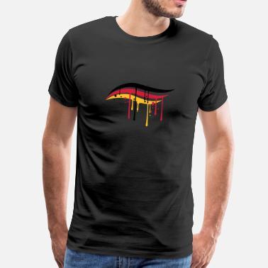 Elegante Graffiti gotas de pintura de graffiti columpio elegante ele -  Camiseta premium hombre d3a122d3efa