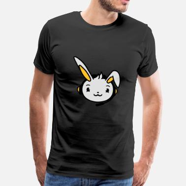 Rab face head controller play gamble console bunny rab - Men's Premium T-Shirt