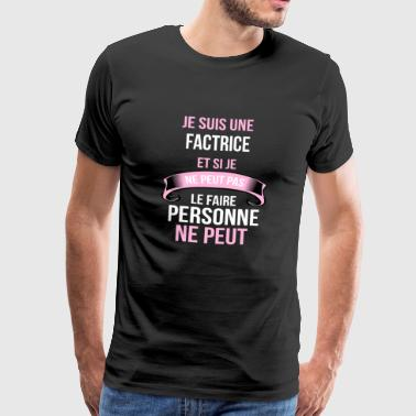 Factrice Factrice - T-shirt Premium Homme
