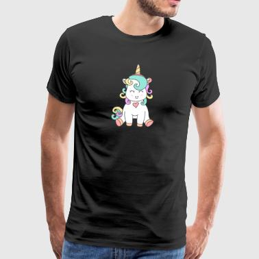 The unicorn baby. It could not be sweeter. - Men's Premium T-Shirt