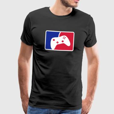 Gaming Controller League - Männer Premium T-Shirt