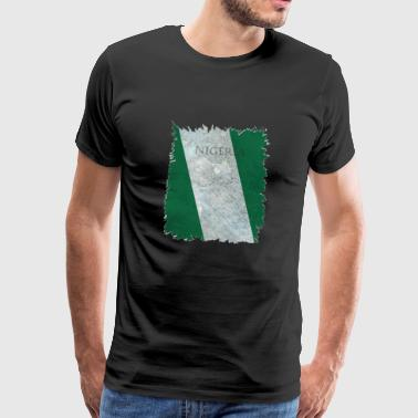 Couleurs nationales du Nigeria - T-shirt Premium Homme