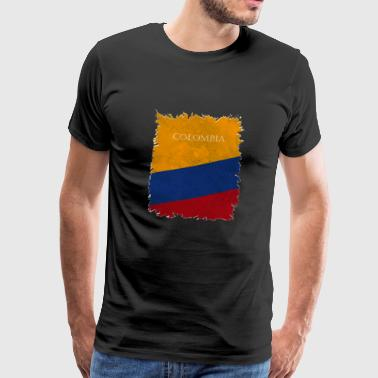 Couleurs nationales Colombie - T-shirt Premium Homme
