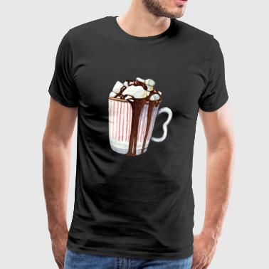 Marshmallow cocoa - Men's Premium T-Shirt