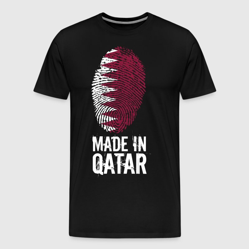 Made In Qatar / Qatar / قطر - Men's Premium T-Shirt