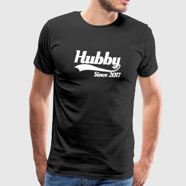 Hubby since 2017 (couples) - T-shirt Premium Homme