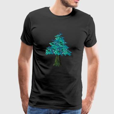 Trippy Tree - Männer Premium T-Shirt