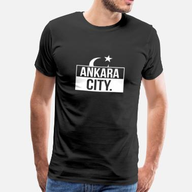 Ankara Ankara City Turkey Türkiye - Men's Premium T-Shirt
