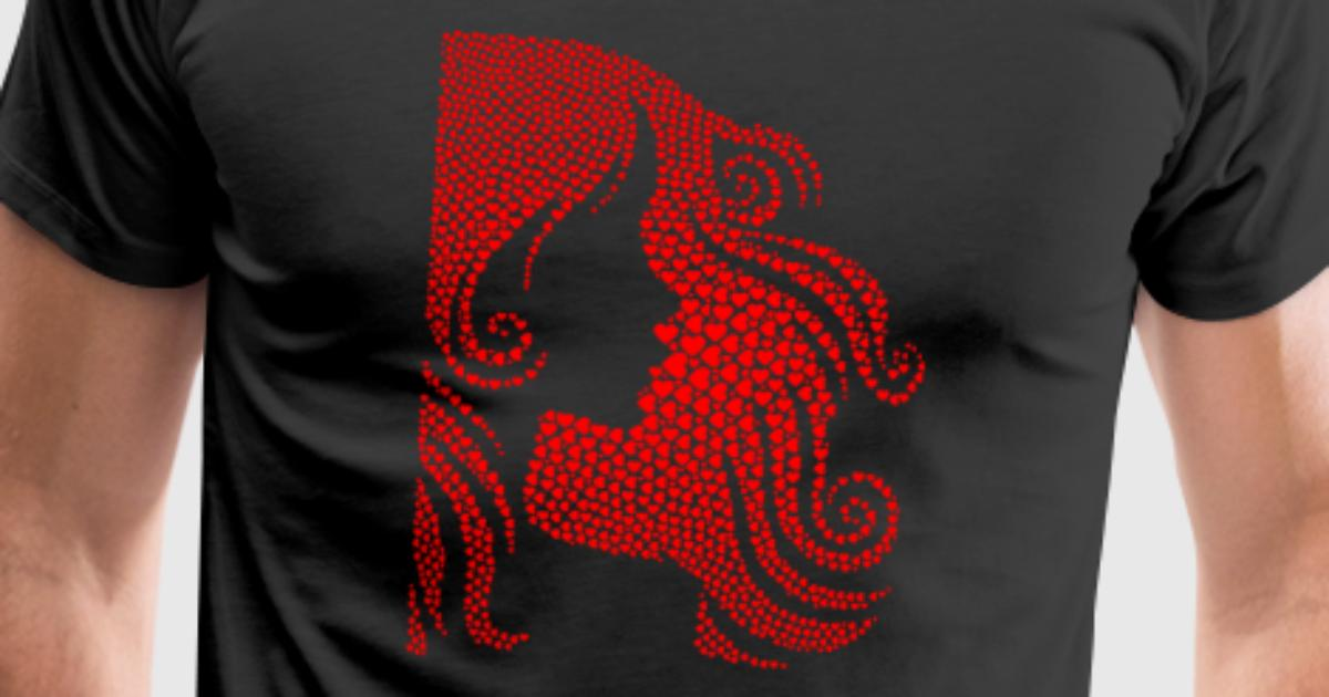 Amour de femme t shirt spreadshirt for Two color shirt design