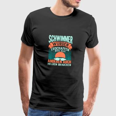 swimmer - Men's Premium T-Shirt