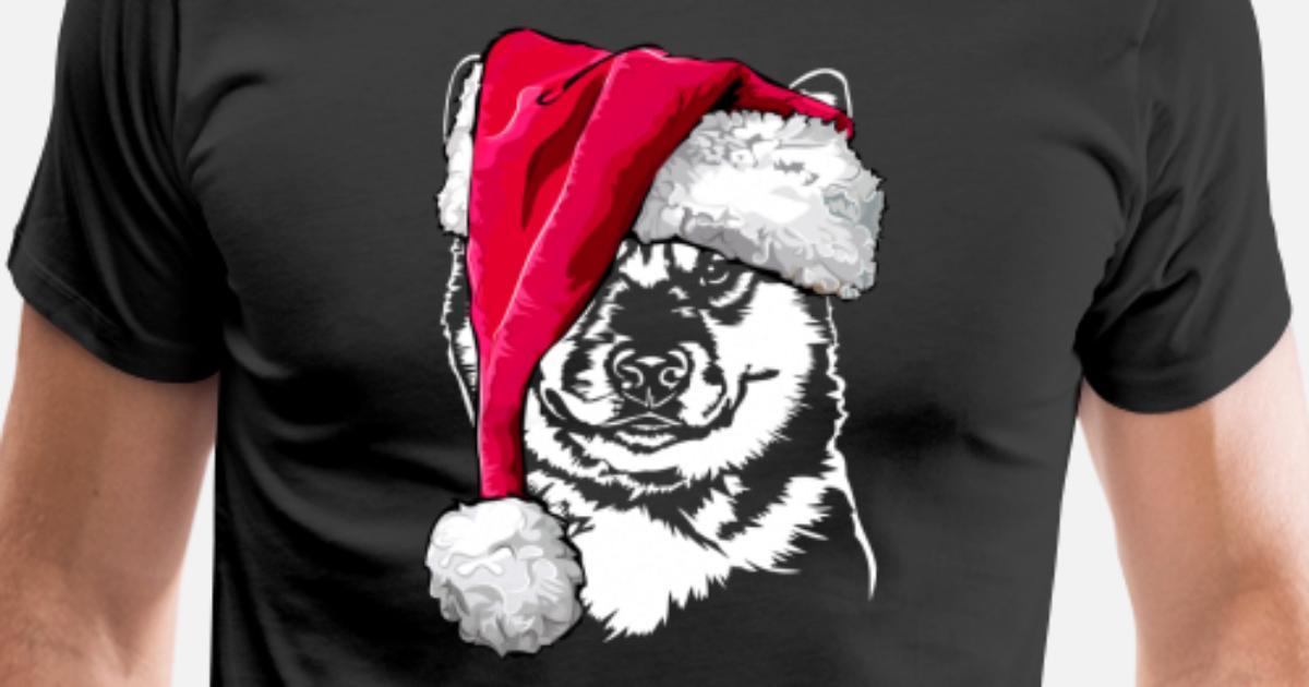 SHIBA INU mit Muetze Weihnachten von Wilsigns Graphics | Spreadshirt