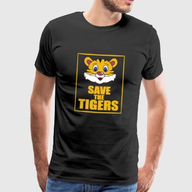 Save the Tigers - Save the Tiger - Mannen Premium T-shirt