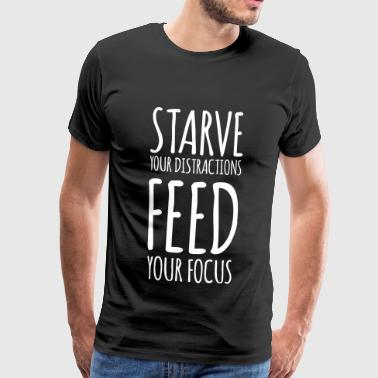 Feed your Focus - Männer Premium T-Shirt