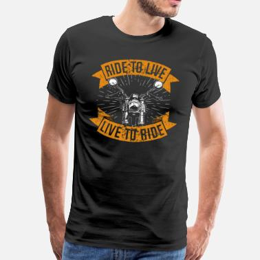 Gadoue Live to Ride - T-shirt Premium Homme