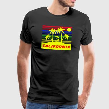 California / California - Men's Premium T-Shirt