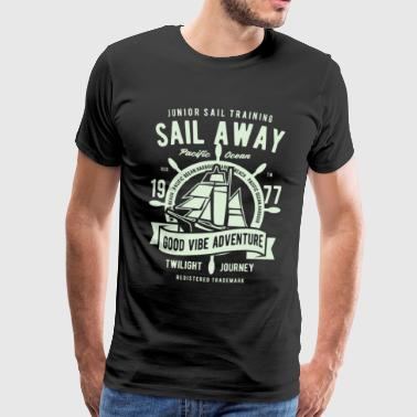 Sailing yachting - Men's Premium T-Shirt