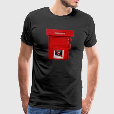 big fire alarm - Men's Premium T-Shirt