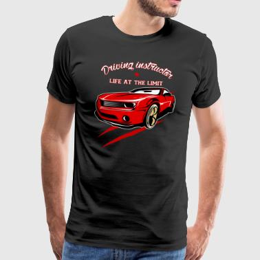 Driving instructor driving license driving school gift - Men's Premium T-Shirt