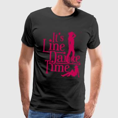 Line dance - Men's Premium T-Shirt