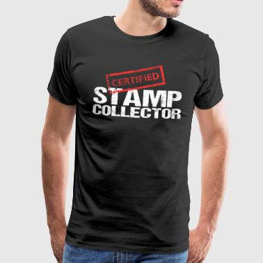 Collect Stamps Post Hobbies - Men's Premium T-Shirt
