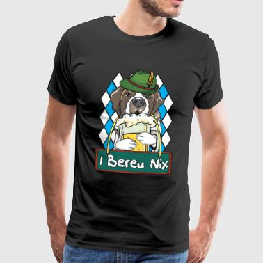 Bernese Mountain Dog Hund Oktoberfest Wiesn Gift - Men's Premium T-Shirt