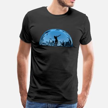Tower Tilted Towers - Männer Premium T-Shirt