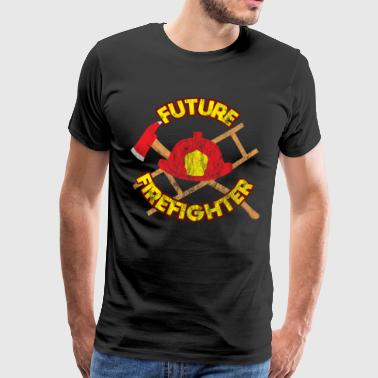 Medical Future firefighter job work gift - Men's Premium T-Shirt