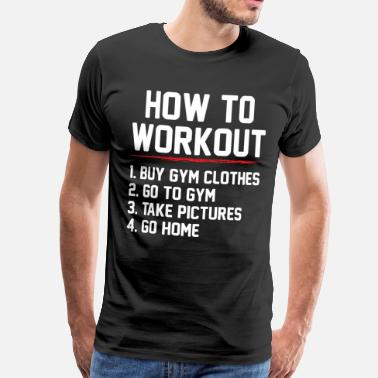 Taber Gym Train Body Gift - Herre premium T-shirt