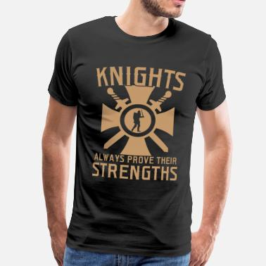 Trade Fair Knight Medieval Festival Market Gift - Men's Premium T-Shirt