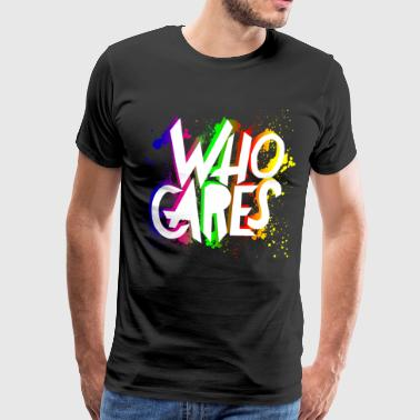 Vem Care Colorful - Premium-T-shirt herr