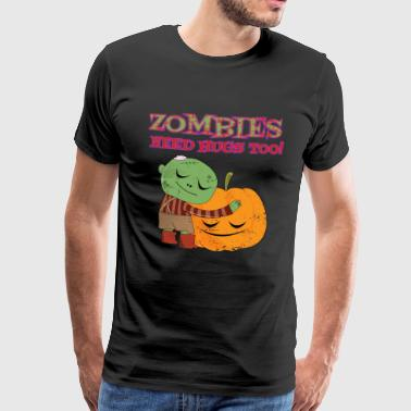 Zombies - Premium T-skjorte for menn