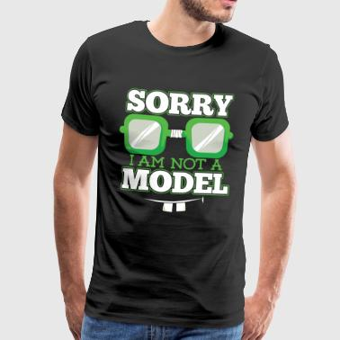 geen Model - Mannen Premium T-shirt