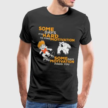 Skateboard motivation - Men's Premium T-Shirt