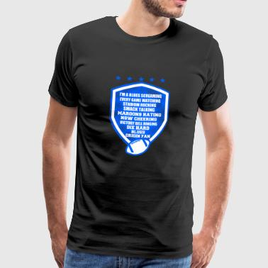 I am a blues screaming - Männer Premium T-Shirt