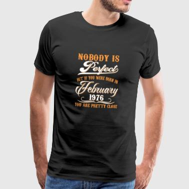 If You Born In February 1976 - Men's Premium T-Shirt