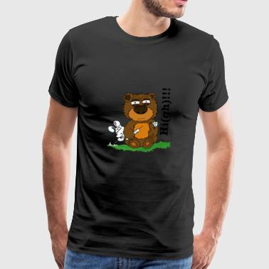 Ted-High - Mannen Premium T-shirt
