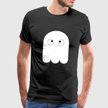 Cross-eyed ghost / ghost cute gift - Men's Premium T-Shirt